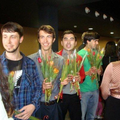 Boys-giving-flowers