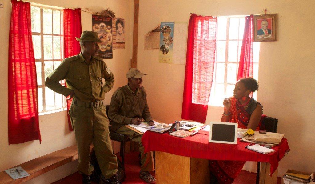 Alexandra Sutton has been working with communities in Maasai Mara of Kenya