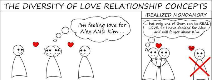 diversity of love relationships i'm feeling love for two people