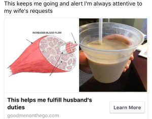 Fufill a husband's duties and requests