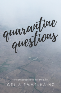 cover of quarantine questions, a book of questions to ask each other during social distancing